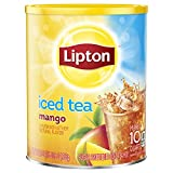 Lipton Iced Tea Mix, Mango Sweetened, 10 qt