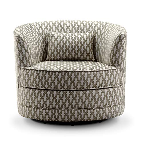 Rosevera SH-H6 Hearst Swivel Accent Chair Beige ()