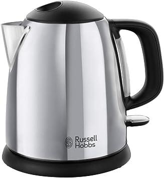 Russell Hobbs 24990-70 Victory - Hervidor de Agua Eléctrico acero inox detalles en plastico, 220...