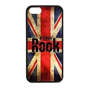 Canting_Good Punk Rock Custom Case for iPhone 5,5S TPU (Laser Technology) Kimberly Kurzendoerfer