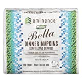 100% Premium Recycled Bella Dinner Napkins, 15 x 17, White, 3000/Carton, Sold as 1 Carton