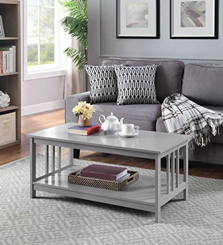 Convenience Concepts 203382GY Coffee Table, ()