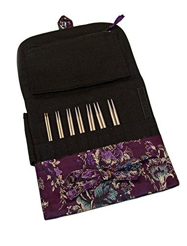 HiyaHiya - Set de agujas para tejer (intercambiables, acero inoxidable, 4/10 cm, tamaño pequeño) 4/10 cm 5060347284889