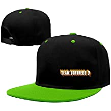 Cool Team Fortress 2 Logo Hiphop Cap Baseball Hat Adjustable 100% Cotton Male/Female Red