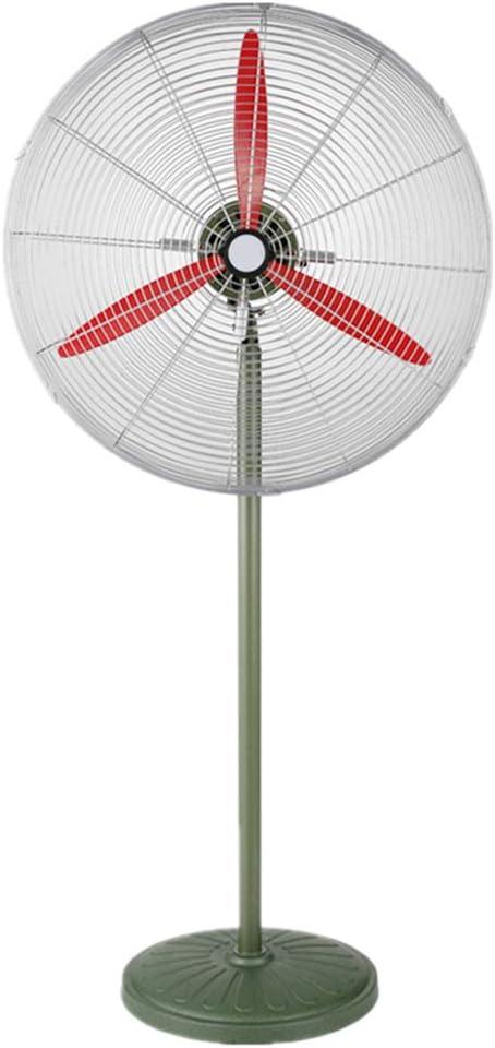 Circulador de Aire frío Ventilador de Pedestal Ventilador de Piso de enfriamiento Industrial pie para Trabajo Pesado con Cabezal oscilante y 3 aspas para almacenes agrícolas comerciales comerciales