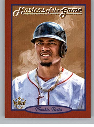 2019 Panini Diamond Kings Masters of the Game #1 Mookie Betts Boston Red Sox Baseball Trading Card ()