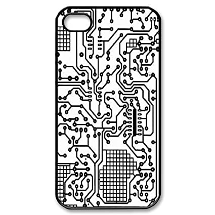 Iphone 5 Circuit Board Phone Case Cover Cell Phones Accessories