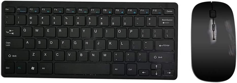 NQO - Teclado combo y ratón mecánico para juegos, escritorio ...