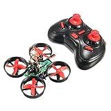 EACHINE E010C Micro FPV Quadcopter With 800TVL 40CH 25MW VTX 1/3 ''CMOS FPV Camera Mini Nano Quadcopter Drone Mode 2 (Black Red)