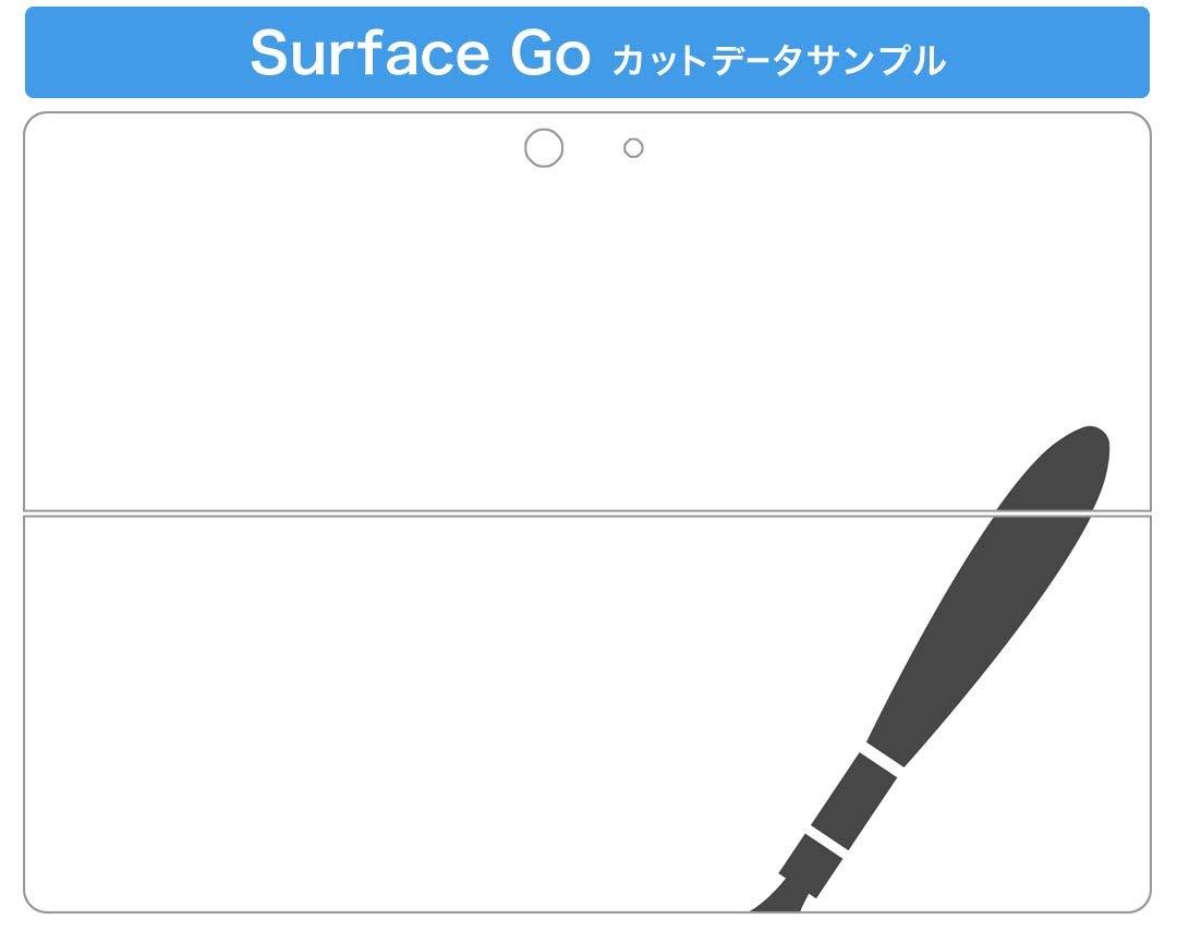 igsticker Ultrad/ünne Premium-Klebeschutzfolie Skins Universelle Tablet-Schutzfolie f/ür Microsoft Surface Go 004263