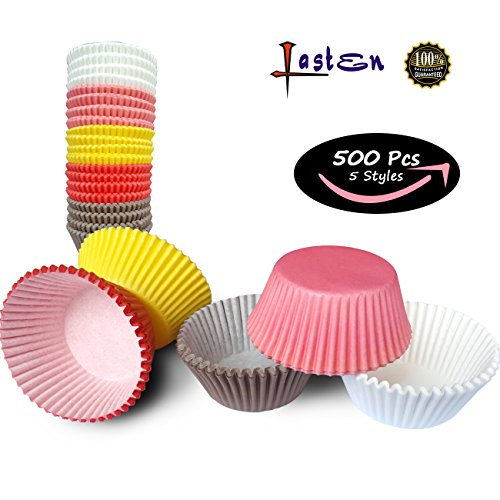 red and pink cupcake liners - 7