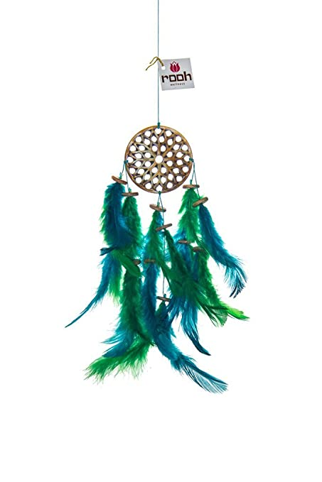 Rooh dream catcher wooden earth handmade hangings for positivity used as home décor