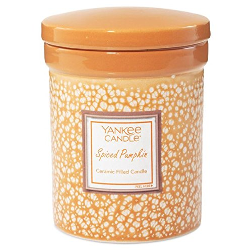 (Yankee Candle Spiced Pumpkin Ceramic Crock Candle,)