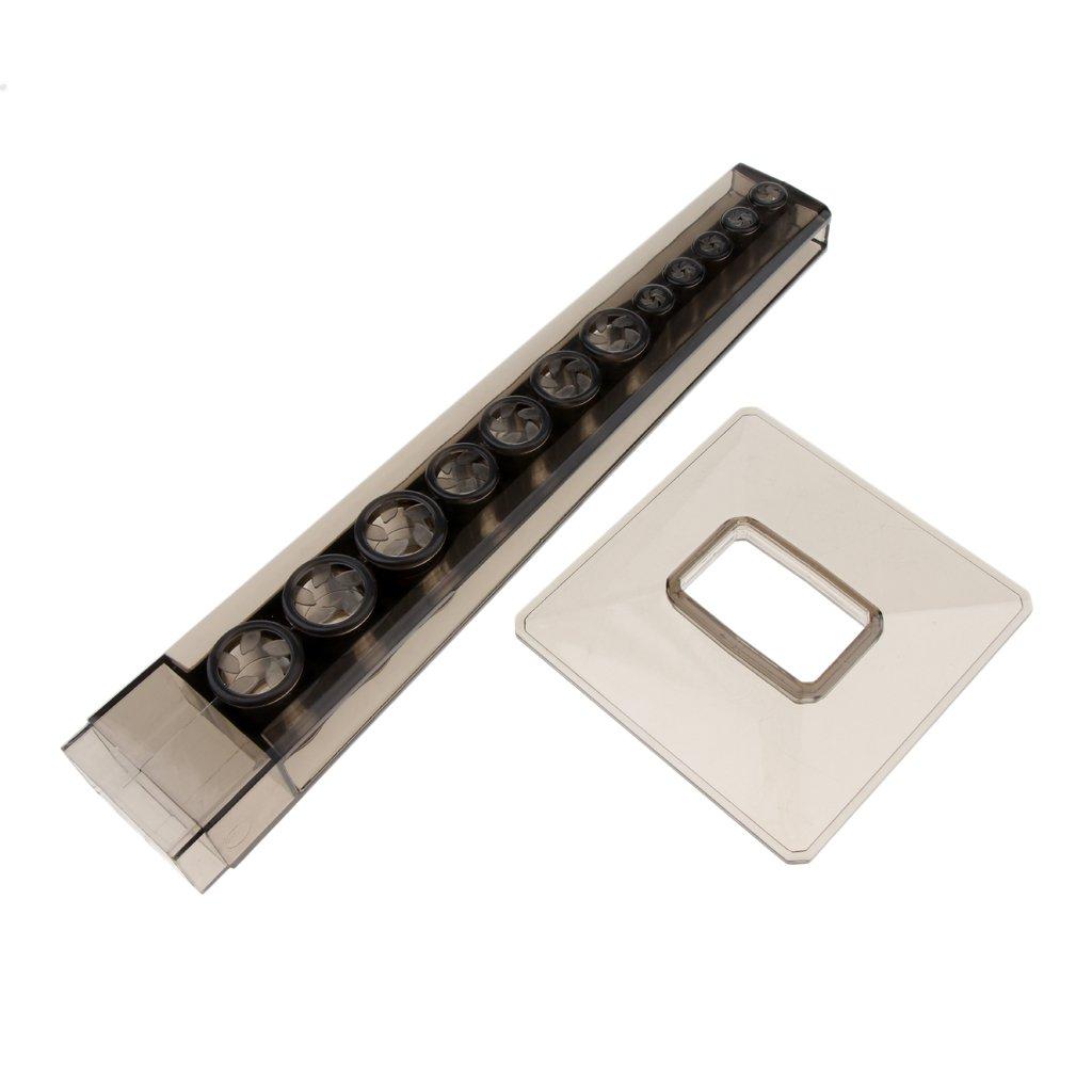 Braun B Baosity Stabil Pinselst/änder Pinselhalter Stiftehalter 12 F/ächer