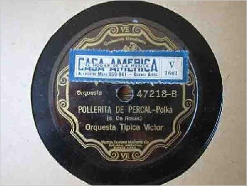 Antiguo Disco Pizarra - Old Slate Disc : POLLERITA DE PERCAL ...