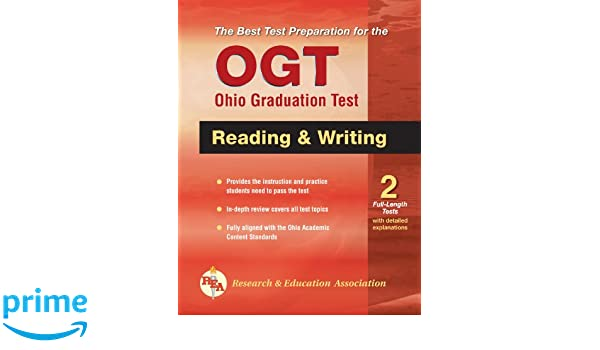 OGT Ohio Graduation Test Reading and Writing (Ohio Graduation Test ...