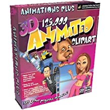 3D 125,000 Animated Clip Art (Mac)