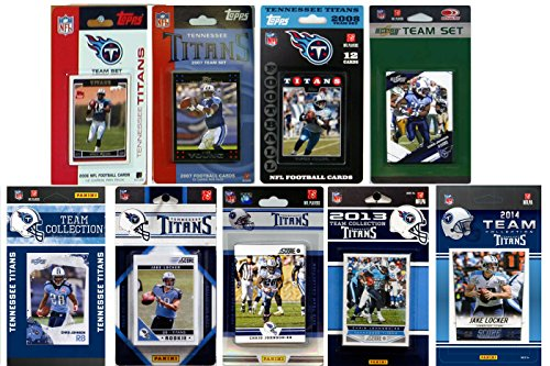 Score Tennessee Titans Nfl Card (NFL Tennessee Titans Licensed Trading Card Team Set)