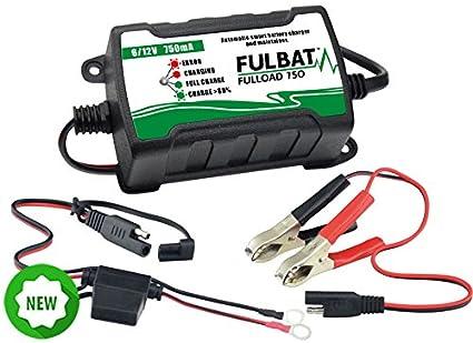 FULBAT - Cargador batería moto FULBAT fulload 750 6/12 V 750 ...