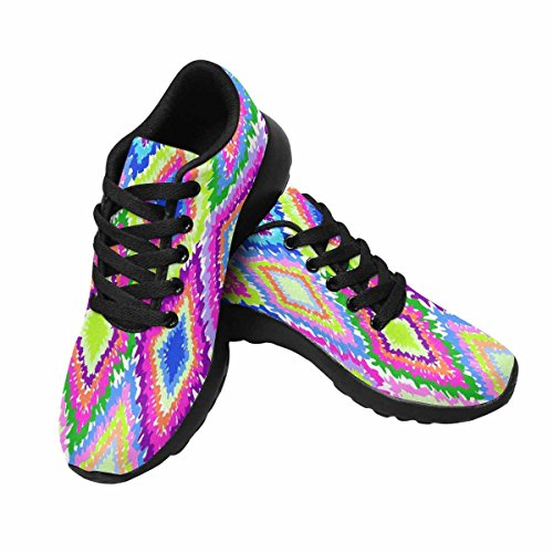 Scarpa Da Jogging Leggera Da Donna Running Jogging Leggera Easy Walking Comfort Sport Scarpe Da Corsa Neon Geometric Multi 1