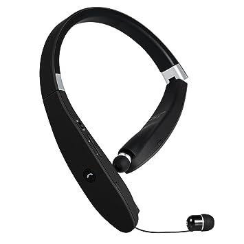 Auriculares Bluetooth Deportivos V4.1 GRDE Plegable Audifonos Bluetooth con Cancelación de ruido CVC6.