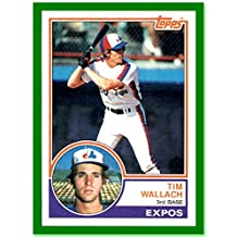 1983 Topps #552 Tim Wallach MONTREAL EXPOS