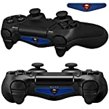 Mod Freakz Pair of LED Light Bar Skins Original Logo Steel for PS4 Controllers