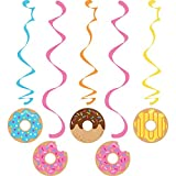 Creative Converting 324238 Donut Party Dizzy Danglers Multisizes Multicolor