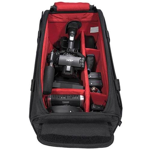 Sachtler Camporter Shoulder Bag for Video Camera with Microphone and Accessories, Large by Sachtler