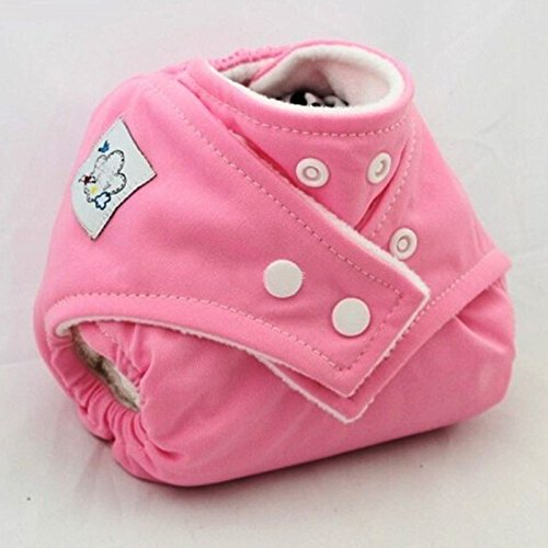 Girls Generation Genie Costume (1PCS Reusable Baby Infant Nappy Cloth Diapers Soft Covers Baby Nappy Size Adjustable Training Pants Size Adjustable (Pink Color))