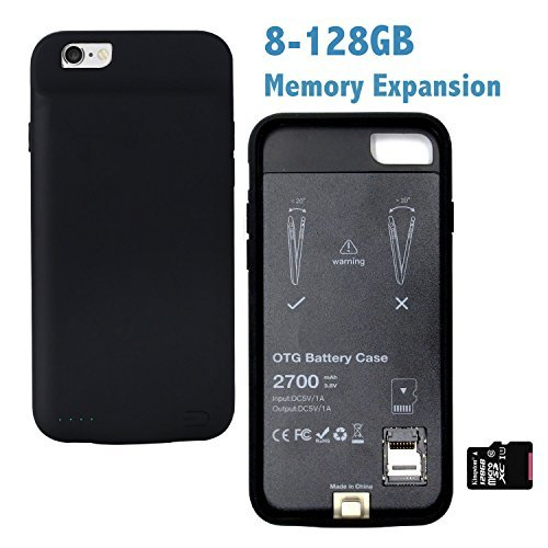 new product 34e90 595af Galleon - IPhone 6S/6 Memory Battery Charger Cases ,spacepack ...