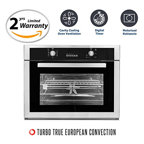 Cosmo COV-309DB Stainless Steel Electric Wall Oven