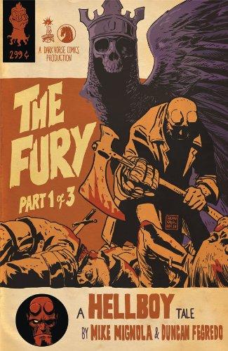 - Hellboy The Fury #1 Variant Francesco Francavilla Cover