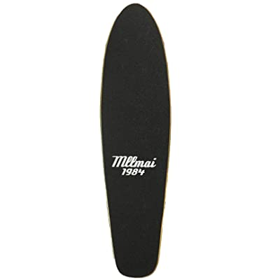 LMAI 22'' Bamboo Cruiser Maple Wood Skateboard (Deck) : Sports & Outdoors