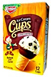 Keebler 12-Count FUDGE DIPPED Ice Cream CUPS 3.25oz (2 Pack)