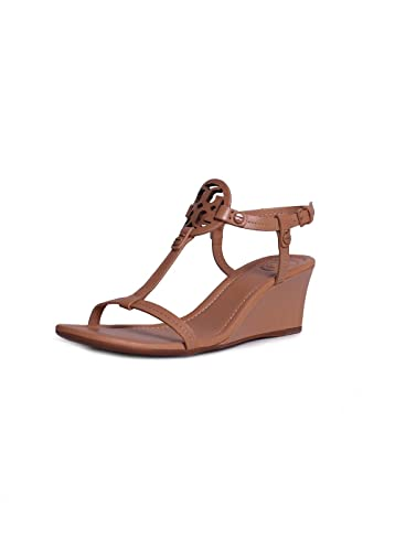 a62e67ac7 Tory Burch Miller Leather Wedge Sandals