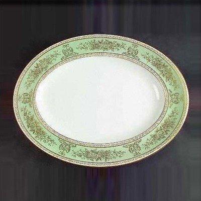 Wedgwood Columbia Sage Oval Platter 14.125