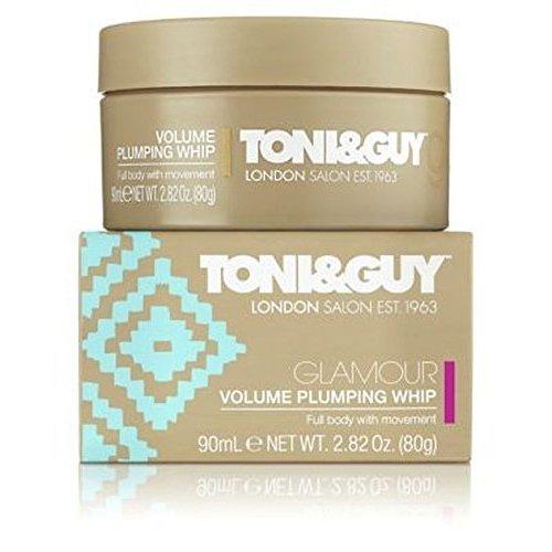 (Toni & Guy Glamour Volume Plumping Whip 90Ml - Pack of 2)