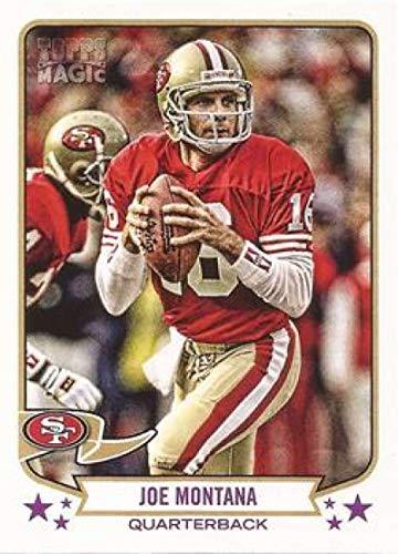 2013 Topps Magic #206 Joe Montana 49ers NFL Football Card NM-MT (Joe Montana Football Trading Card)
