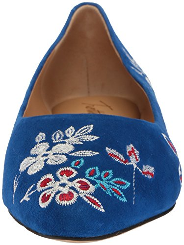 wholesale price cheap price Trotters Women's Estee Embroidery Ballet Flat Blue ebay XlKGixGDiv