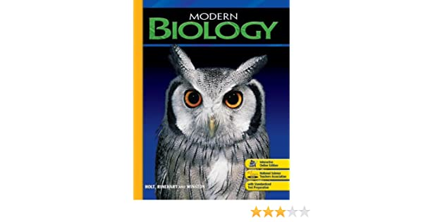 Chapter Tests With Answer Key Modern Biology 2006 Holt