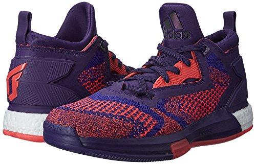 adidas Boost Lillard 2 Prime Knit scarpa da basket uomo, Viola, 12.5 UK - 48 EU