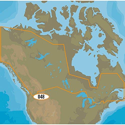 C-MAP MAX-N NA-Y048 - Canadian Lakes