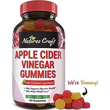 Amazon.com: Natural Apple Cider Vinegar Gummies - for