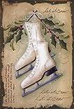 Vintage Ice Skates - Poster by Jill Ankrom (12 x 18)