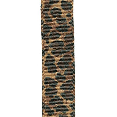 Offray Wildcat Animal Print Craft Ribbon, 7/8-Inch Wide by 10-Yard Spool, Camel