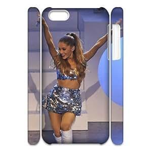 LJF phone case C-EUR Diy 3D Case Ariana Grande for iPhone 5C