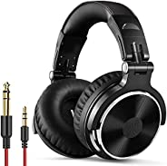 OneOdio Wired Over Ear Headphones Studio Monitor & Mixing DJ Stereo Headsets with 50mm Neodymium Drivers a