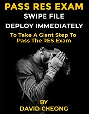 Pass RES Exam Swipe File: Deploy Immediately To Take A Giant Step TO Pass The RES Exam