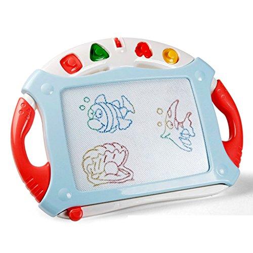 イーゼル子供の描画ボードベビー磁気書き込みボード1–3Years Old子供のグラフィティボード子供の磁気ペイントボード子供のおもちゃ レッド